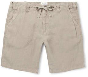 Hartford Linen Drawstring Shorts