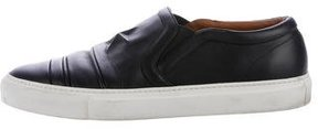 Givenchy Star-Embossed Leather Sneakers