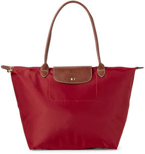 Longchamp Red Le Pliage Large Tote - RED - STYLE