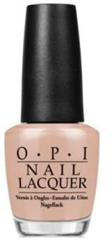 OPI Nail Lacquer Nail Polish, Pale To The Chief.