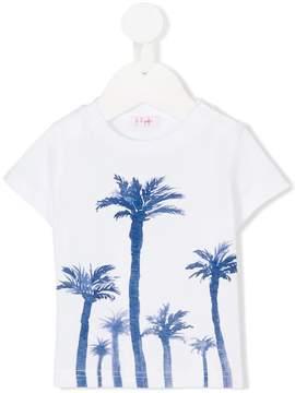 Il Gufo palm tree print T-shirt