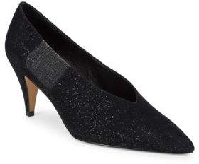 Free People Florence Sparkling Suede Pumps