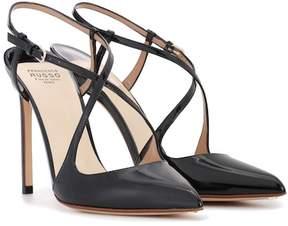 Francesco Russo Patent leather pumps