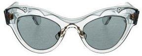 Miu Miu Cat-Eye Tinted Sunglasses