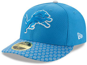 New Era Detroit Lions Sideline Low Profile 59FIFTY Fitted Cap