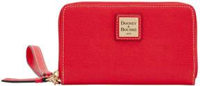 Dooney & Bourke Saffiano Zip Around Phone Wristlet - TOMATO - STYLE