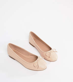 Asos LIFESAVER Leather Ballet Flats