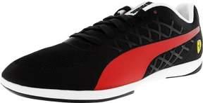Puma Men's Ferrari Valorosso 2 Black / Rosso Corsa Ankle-High Fashion Sneaker - 11.5M