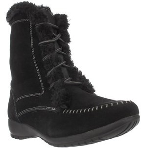 Sporto Maggie Lined Winter Boots, Black.