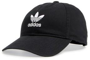 adidas Women's Trefoil Baseball Cap - Black