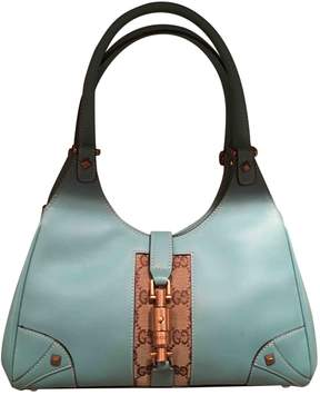 Gucci Jackie leather tote - BLUE - STYLE