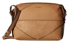Nine West NEW It's a Tie Hand Bag Purse Dark Camel 60457118