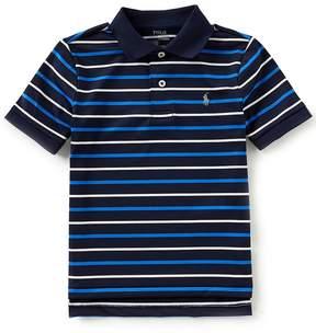 Ralph Lauren Little Boys 2T-7 Short-Sleeve Striped Moisture-Wicking Polo Shirt