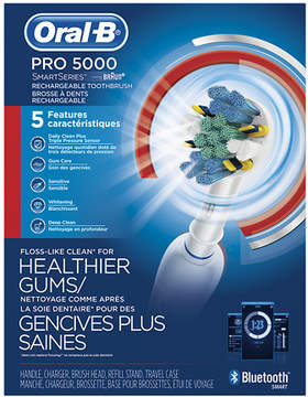 Oral-B PRO 5000 SmartSeries Electric Rechargeable Power Toothbrush Powered by Braun