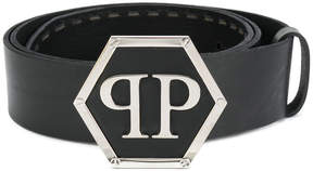 Philipp Plein belt with monogram buckle