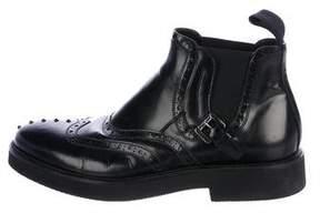 Cesare Paciotti Brogue Chelsea Boots