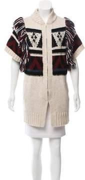 White + Warren Knit Short Sleeve Cardigan