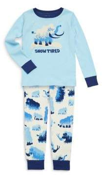 Hatley Toddler's, Little Boy's & Boy's Two-Piece Printed Cotton Pajama Set