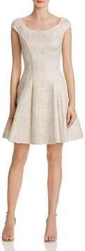 Betsey Johnson Metallic Brocade Dress