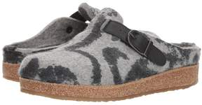 Haflinger Grey Pattern Women's Slippers