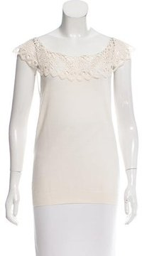 Christian Dior Crocheted Wool Top w/ Tags