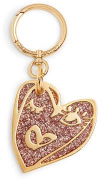 Henri Bendel Heart Glitter Bag Charm