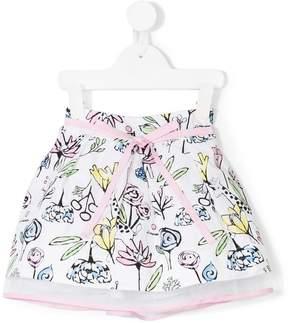 Simonetta floral printed skirt