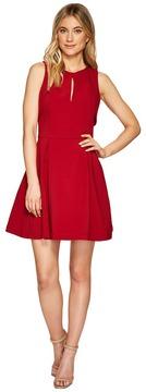 Adelyn Rae Samantha Fit Flare Dress Women's Dress
