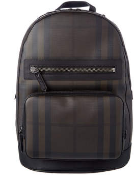 Burberry Marden Smoke Checked Backpack