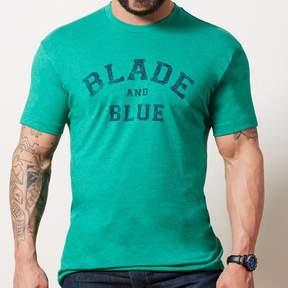 Blade + Blue Green & Navy Tee