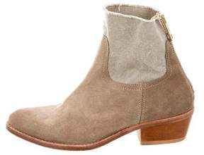 Zadig & Voltaire Suede Ankle Boots
