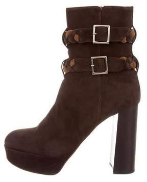 Ritch Erani NYFC Suede Platform Ankle Boots