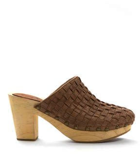 Free People Adelaide Woven Clog