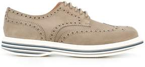 Church's striped heel derby shoes