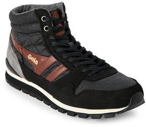 Gola Black Ridgerunner High Top Sneakers