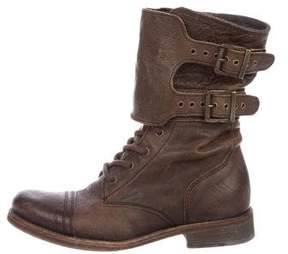 AllSaints Leather Ankle Boots