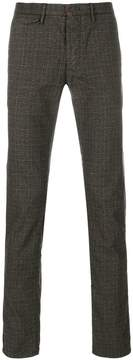 Incotex slim-fit checked trousers
