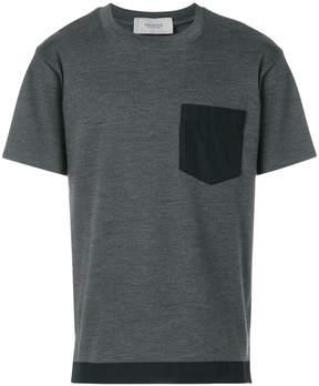 Pringle contrast pocket T-shirt
