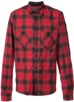 Amiri Core checked flannel shirt