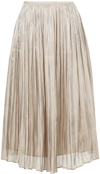 ESTNATION pleated midi skirt