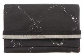 Chanel Nylon Printed Wallet