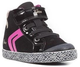 Geox Toddler Girl's Kiwi Girl High Top Sneaker