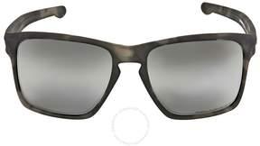 Oakley Sliver XL Polarized Chrome Iridium Sunglasses