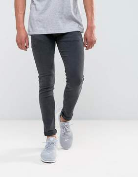 Replay Jondrill Skinny Power Stretch Jeans Washed Black