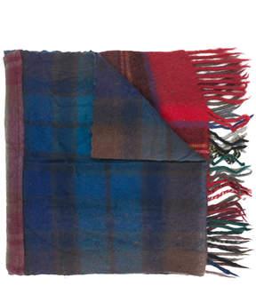 Comme des Garcons tartan scarf