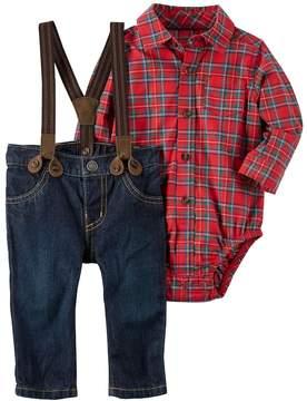 Carter's Baby Boy Plaid Shirt