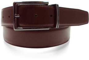 Apt. 9 Men's Reversible Feather-Edge Stitched Soft-Touch Leather Belt