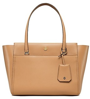 Tory Burch Parker Small Tote - CARDAMOM / ROYAL NAVY - STYLE