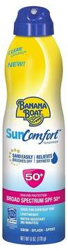 Banana Boat Sun Comfort Sunscreen Spray - SPF 50 - 6oz