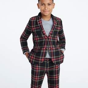 J.Crew Boys' Ludlow suit jacket in Stewart plaid